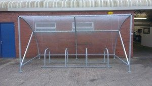 Galvanised Sheffield Cycle Stand & Modular Cycle Toast Rack