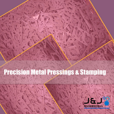 Precision Metal Pressing and Stamping Process Image