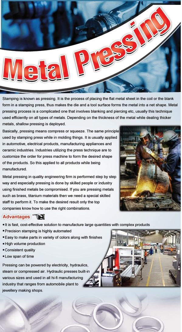 Metal Stamping & Pressings
